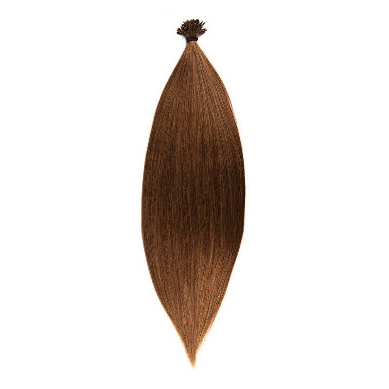 20 extension cheveux naturel anneaux froid 40 cm - Extension a froid 70 cm ...