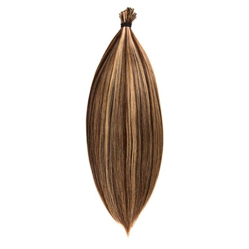 20 extension cheveux naturel froid anneaux 25 cm - Extension a froid 70 cm ...