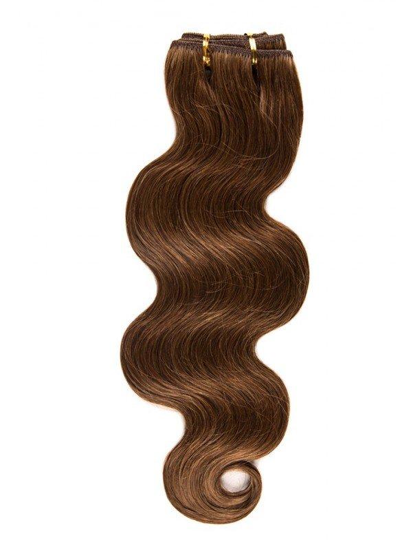 Tissage de cheveux naturel ondulé 50 cm