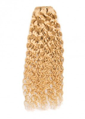 Tissage de cheveux naturel frisé deep wave 50 cm