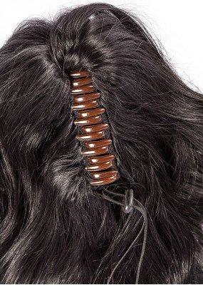Queue de cheval bouclée 40cm - Sandra - PonyTails
