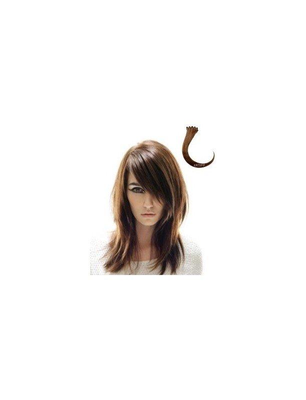 Frange à clips Emilie 30cm