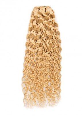 Tissage de cheveux naturel frisé deep wave 40 cm