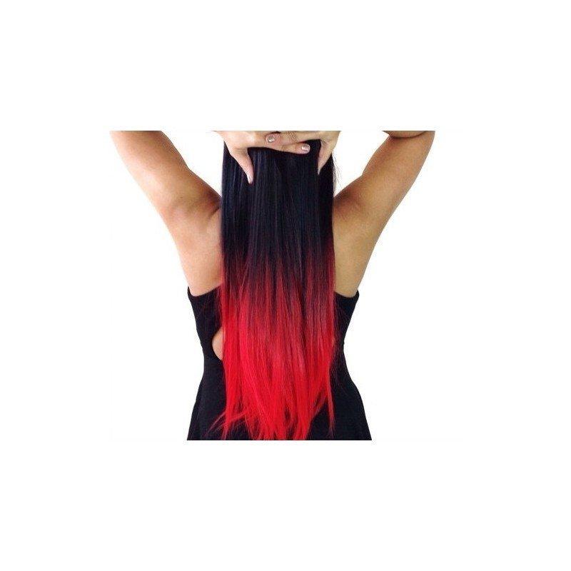 extension clip fantaisie 1 bande de 5 clips 50cm tie dye 14 90 fantaisie. Black Bedroom Furniture Sets. Home Design Ideas