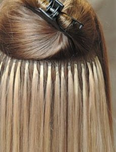 Pose d'extensions