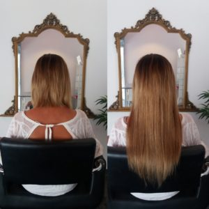 Extensions blondes