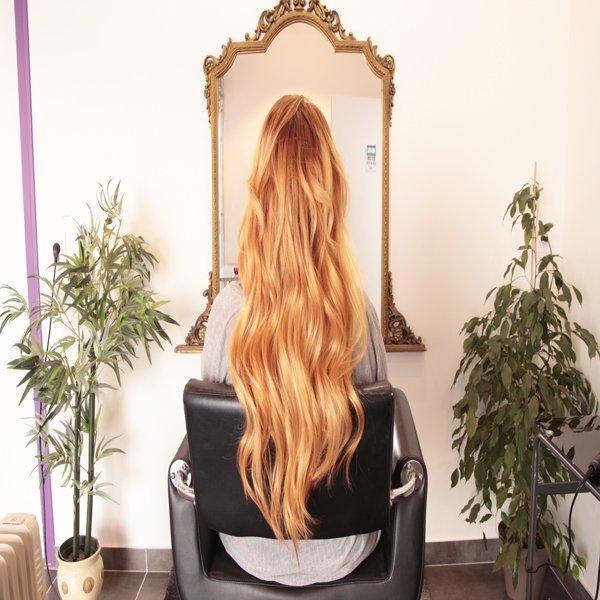 Sophie ou la pose réussie des extensions de cheveux…