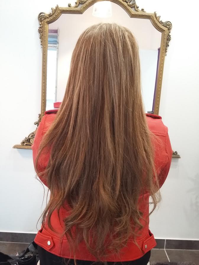 Pose d'extensions de cheveux Paris