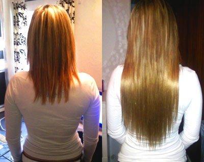 Photos Avant Après Pose Extension Meche Cheveu