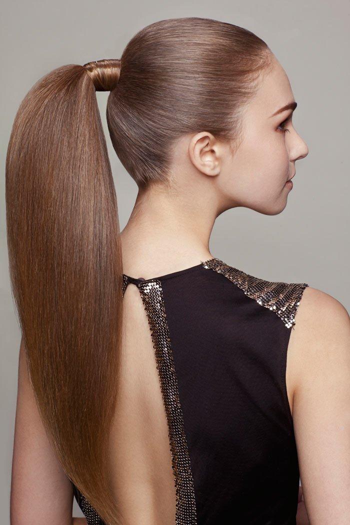 queue de cheval structurée (ponytail)