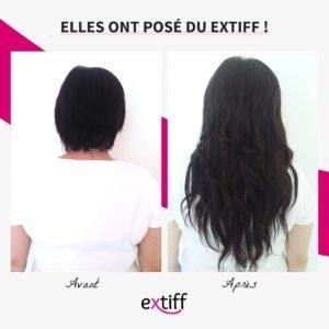 Extensions à clips 40 cm