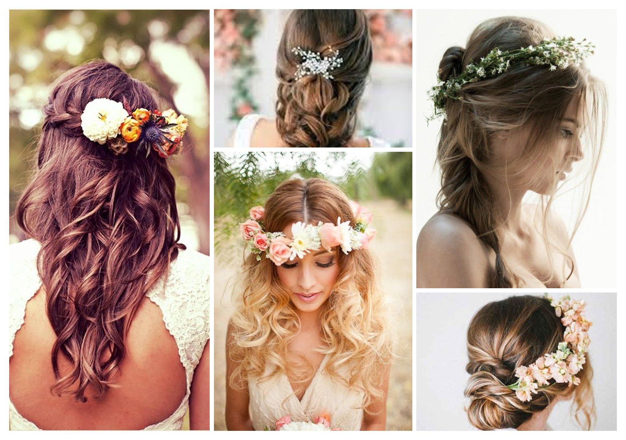 Des idées de coiffure mariage