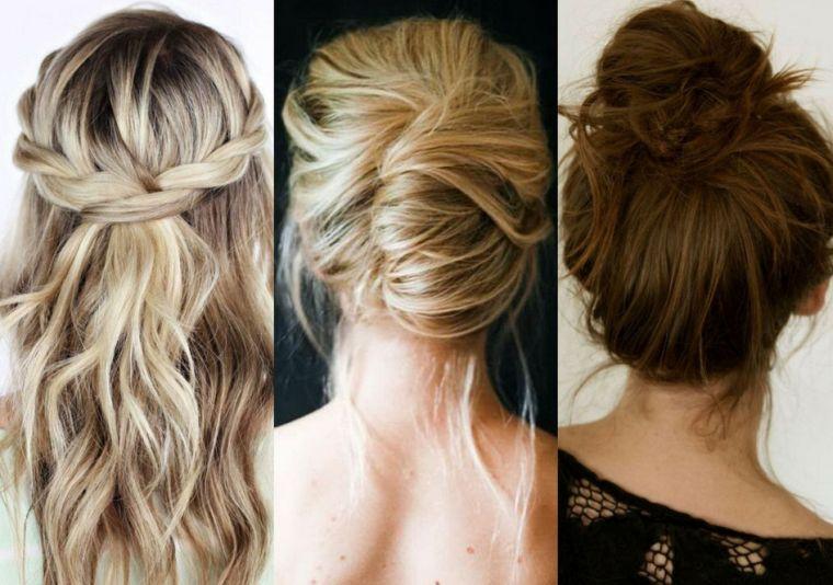 Des coiffures faciles sur cheveux longs