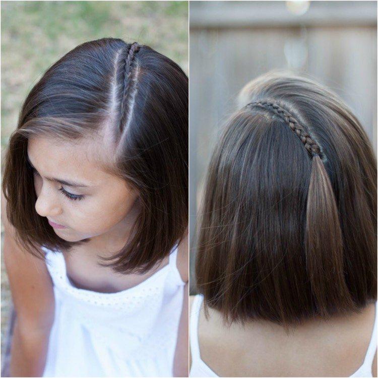 Les coiffures les plus simples des enfants Г la maternelle
