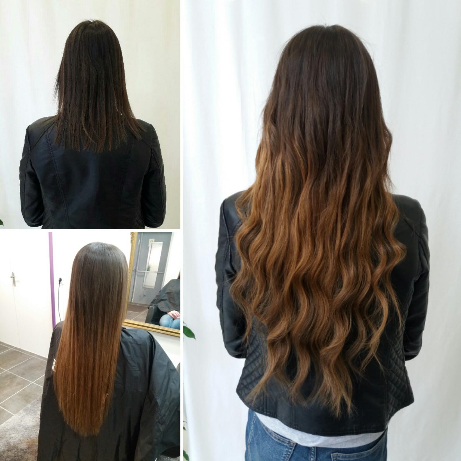 Extensions de cheveux à clip