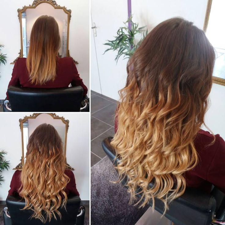 Allonger un ombré hair
