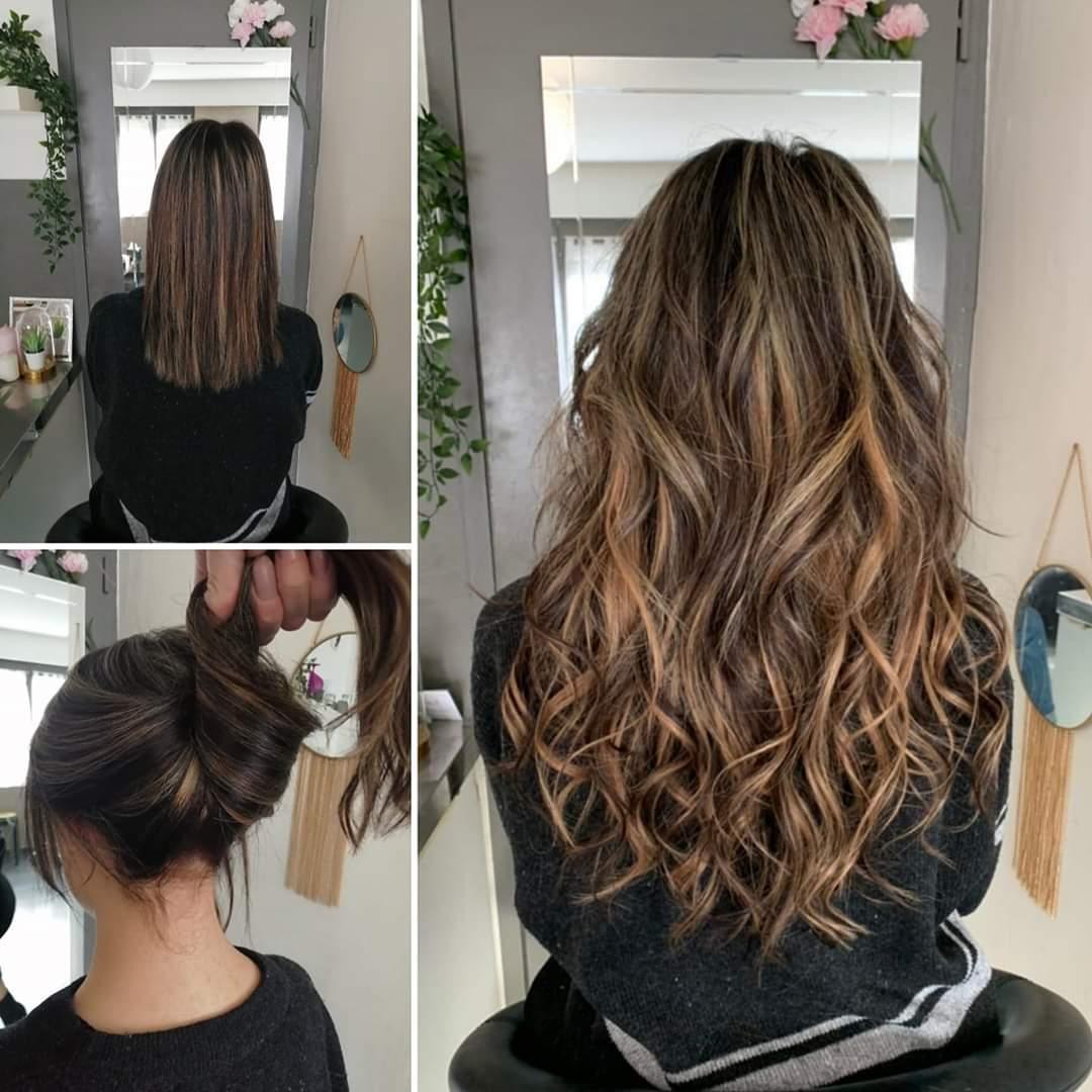 Une coiffure pour l'été