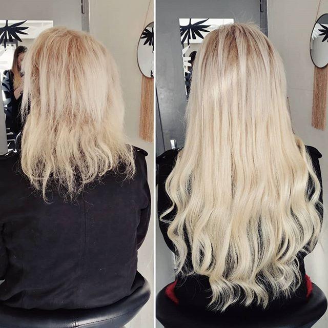 Les extensions de cheveux chez le coiffeur